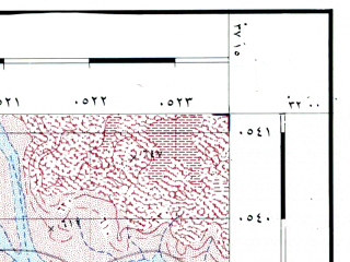 Reduced fragment of topographic map he--rjgc--050k--31-37-m--(1993)--N032-00_E037-00--N031-45_E037-15