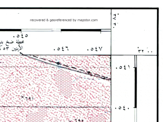Reduced fragment of topographic map he--rjgc--050k--31-37-n--(1993)--N032-00_E037-15--N031-45_E037-30