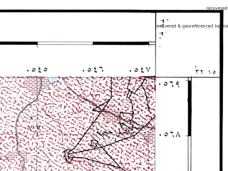 Reduced fragment of topographic map he--rjgc--050k--32-37-b--(1993)--N032-15_E037-15--N032-00_E037-30