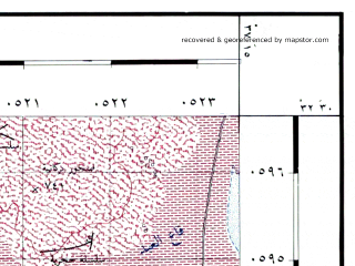 Reduced fragment of topographic map he--rjgc--050k--32-37-e--(1993)--N032-30_E037-00--N032-15_E037-15