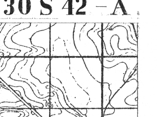Reduced fragment of topographic map pl--wig--025k--P30S42-A--(1929)--N054-45_E025-50--N054-40_E026-00