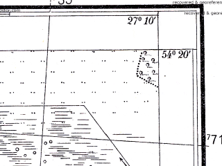 Reduced fragment of topographic map pl--wig--025k--P31S44-H--(1934)--N054-20_E027-00--N054-15_E027-10