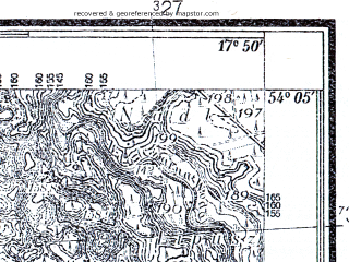 Reduced fragment of topographic map pl--wig--025k--P32S25-I--(1935)--N054-05_E017-40--N054-00_E017-50; towns and cities Dziemiany