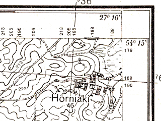 Reduced fragment of topographic map pl--wig--025k--P32S44-B--(1934)--N054-15_E027-00--N054-10_E027-10