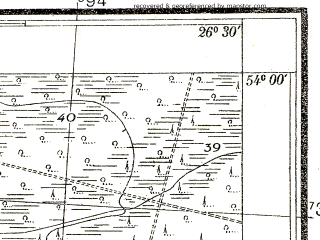 Reduced fragment of topographic map pl--wig--025k--P33S43-A--(1938)--N054-00_E026-20--N053-55_E026-30