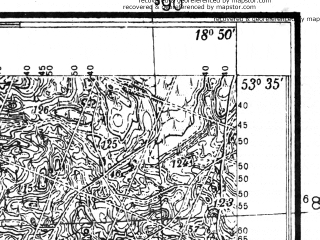 Reduced fragment of topographic map pl--wig--025k--P34S27-I--(1935)--N053-35_E018-40--N053-30_E018-50