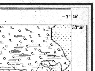 Reduced fragment of topographic map pl--wig--025k--P34S35-H--(1927)--N053-35_E022-30--N053-30_E022-40