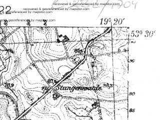 Reduced fragment of topographic map pl--wig--025k--P35S28-C--(1939)--N053-30_E019-10--N053-25_E019-20