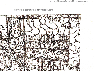 Reduced fragment of topographic map pl--wig--025k--P36S40-D--(1928)--N053-10_E024-50--N053-05_E025-00
