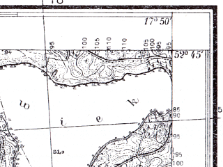 Reduced fragment of topographic map pl--wig--025k--P38S25-C--(1934)--N052-45_E017-40--N052-40_E017-50