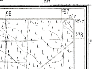 Reduced fragment of topographic map pl--wig--025k--P38S28-D--(1941)--N052-40_E018-50--N052-35_E019-00; towns and cities Brzesc Kujawski