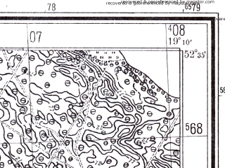 Reduced fragment of topographic map pl--wig--025k--P38S28-H--(1941)--N052-35_E019-00--N052-30_E019-10