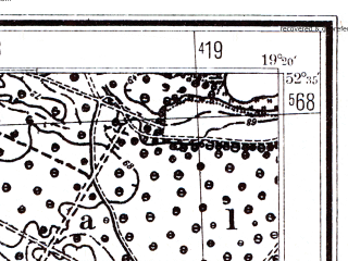 Reduced fragment of topographic map pl--wig--025k--P38S28-I--(1941)--N052-35_E019-10--N052-30_E019-20