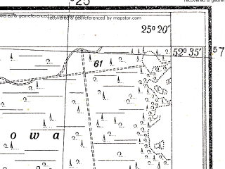 Reduced fragment of topographic map pl--wig--025k--P38S40-I--(1931)--N052-35_E025-10--N052-30_E025-20