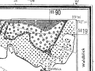 Reduced fragment of topographic map pl--wig--025k--P39S28-C--(1944)--N052-30_E019-10--N052-25_E019-20