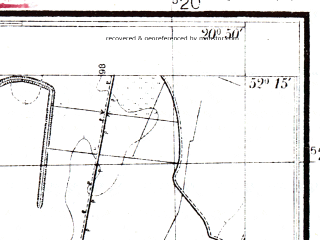 Reduced fragment of topographic map pl--wig--025k--P40S31-C--(1951)--N052-15_E020-40--N052-10_E020-50