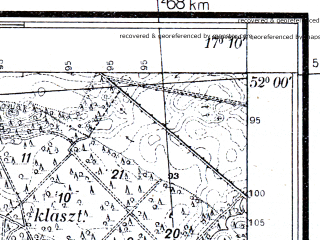 Reduced fragment of topographic map pl--wig--025k--P41S24-B--(1933)--N052-00_E017-00--N051-55_E017-10