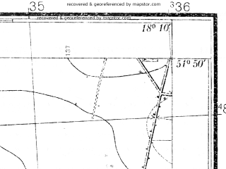 Reduced fragment of topographic map pl--wig--025k--P41S26-H--(1935)--N051-50_E018-00--N051-45_E018-10