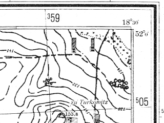 Reduced fragment of topographic map pl--wig--025k--P41S27-A--(1944)--N052-00_E018-20--N051-55_E018-30