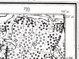 Reduced fragment of topographic map pl--wig--025k--P41S27-E--(1944)--N051-55_E018-30--N051-50_E018-40