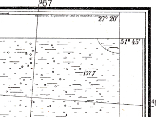 Reduced fragment of topographic map pl--wig--025k--P42S44-C--(1938)--N051-45_E027-10--N051-40_E027-20