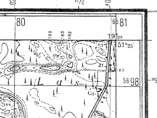 Reduced fragment of topographic map pl--wig--025k--P43S28-E--(1944)--N051-25_E019-00--N051-20_E019-10