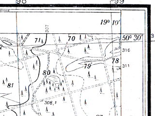Reduced fragment of topographic map pl--wig--025k--P47S28-B--(1933)--N050-30_E019-00--N050-25_E019-10
