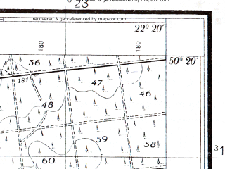 Reduced fragment of topographic map pl--wig--025k--P47S34-I--(1938)--N050-20_E022-10--N050-15_E022-20