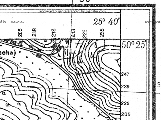 Reduced fragment of topographic map pl--wig--025k--P47S41-E--(1931)--N050-25_E025-30--N050-20_E025-40