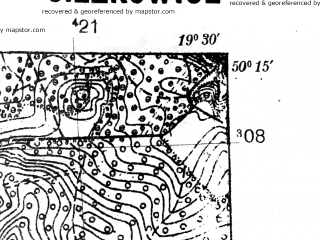 Reduced fragment of topographic map pl--wig--025k--P48S29-A--(1939)--N050-15_E019-20--N050-10_E019-30