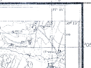 Reduced fragment of topographic map pl--wig--025k--P48S33-B--(1938)--N050-15_E021-30--N050-10_E021-40