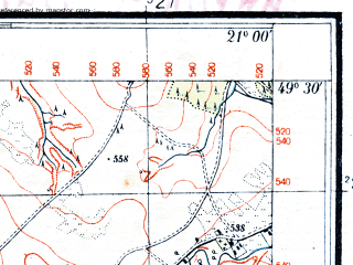 Reduced fragment of topographic map pl--wig--025k--P51S32-A--(1935)--N049-30_E020-50--N049-25_E021-00