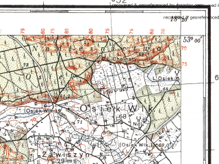 Reduced fragment of topographic map pl--wig--100k--P37S26--(1935)--N053-00_E017-50--N052-45_E018-20; towns and cities Inowroclaw