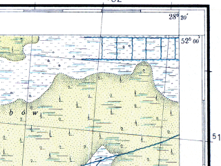 Reduced fragment of topographic map pl--wig--100k--P41S46--(1937)--N052-00_E027-50--N051-45_E028-20; towns and cities Simonichi