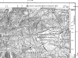 Reduced fragment of topographic map pl--wig--100k--P48S24--(1936)--N050-15_E016-50--N050-00_E017-20