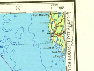 Reduced fragment of topographic map ru--gs--001m--k19--N044-00_W072-00--N040-00_W066-00 in area of Massachusetts Bay, Cape Cod Bay, Nantucket Sound; towns and cities Boston, Providence, Lowell, Lawrence, Portland