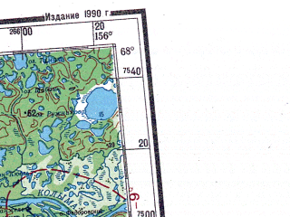 Reduced fragment of topographic map ru--gs--001m--q55_56--N068-00_E144-00--N064-00_E156-00 in area of Sugoj Hetagcan, Zyrjanka, Selennjah; towns and cities Khonulakh, Sasyr, Byrpayap