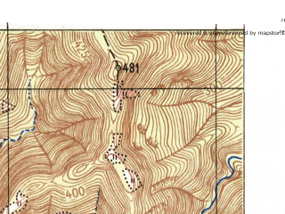 Reduced fragment of topographic map ru--gs--025k--l37-126-3-3--N044-25_E038-30-00--N044-20_E038-37-30; towns and cities Arkhipo-osipovka