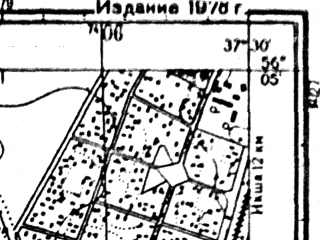 Reduced fragment of topographic map ru--gs--025k--o37-135-4-4--N056-05_E037-22-30--N056-00_E037-30-00; towns and cities Krasnaya Polyana, Lugovaya