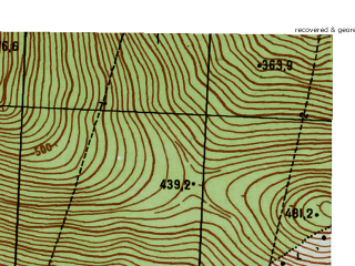 Reduced fragment of topographic map ru--gs--025k--o40-047-2-2--N059-00_E059-22-30--N058-55_E059-30-00
