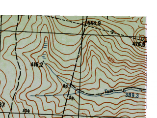 Reduced fragment of topographic map ru--gs--025k--o40-059-4-3--N058-25_E059-15-00--N058-20_E059-22-30