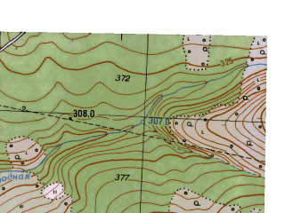 Reduced fragment of topographic map ru--gs--025k--o40-082-4-2--N057-50_E058-52-30--N057-45_E059-00-00