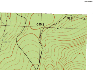 Reduced fragment of topographic map ru--gs--025k--o40-105-4-4--N057-05_E058-22-30--N057-00_E058-30-00