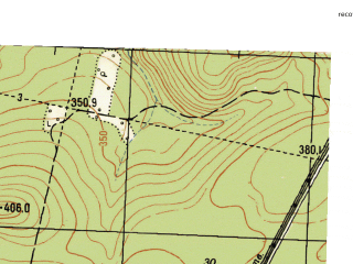 Reduced fragment of topographic map ru--gs--025k--o40-106-1-3--N057-15_E058-30-00--N057-10_E058-37-30