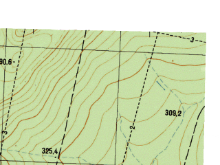 Reduced fragment of topographic map ru--gs--025k--o40-118-1-1--N057-00_E058-30-00--N056-55_E058-37-30