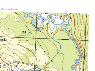 Reduced fragment of topographic map ru--gs--025k--o40-118-3-4--N056-45_E058-37-30--N056-40_E058-45-00