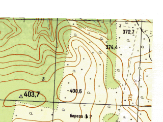 Reduced fragment of topographic map ru--gs--025k--o40-119-1-1--N057-00_E059-00-00--N056-55_E059-07-30