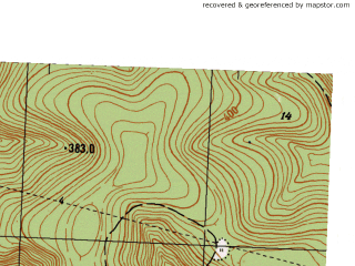 Reduced fragment of topographic map ru--gs--025k--o40-140-1-1--N056-20_E057-30-00--N056-15_E057-37-30