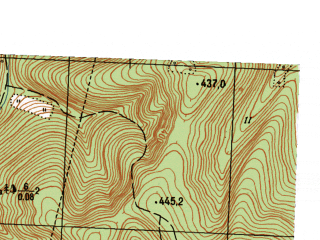 Reduced fragment of topographic map ru--gs--025k--o40-140-1-2--N056-20_E057-37-30--N056-15_E057-45-00
