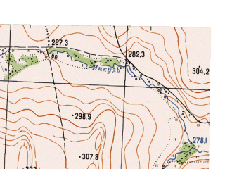 Reduced fragment of topographic map ru--gs--025k--o40-143-1-3--N056-15_E059-00-00--N056-10_E059-07-30